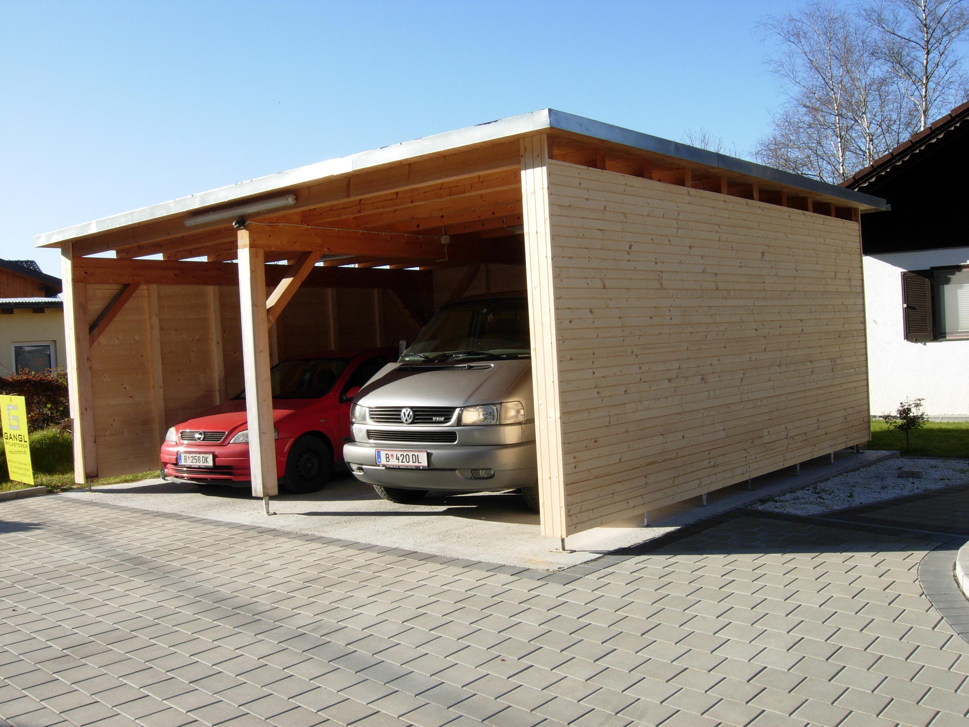 Carports – Blank Holzbau
